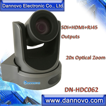 hot deal buy free shipping: dannovo broadcasting camera 20x zoom with sdi,hdmi,ip rj45, support h.265, audio, onvif, rtsp, vlc(dn-hdc062)