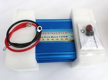 цена на 1500W Pure Sine Wave Inverter DC12/24V to AC 220V 50hz Power Inverter peak power up to 3000W