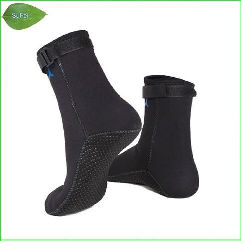 Ingyenes szállítás DS01 3 mm-es neoprén zokni búvárkodás zokni búvárkodás zokni úszás zokni megakadályozza a karcolásokat