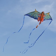 New Arrival 190CM Super Dragon Kite Creative Stereo Dragon Kite With long Tail Easy to Fly Big Outdoor Sports Kite Children Gift