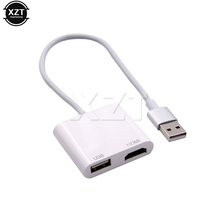 Newest USB To HDMI HDTV HD Mirroring Adaptor Cable Converter Cord For Smart Phone
