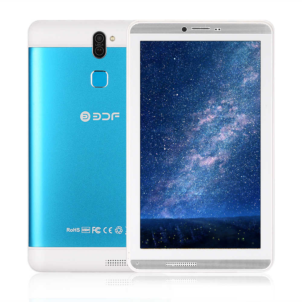7 Inci Layar Android 6.0 PC Quad Core 1GB + 16 Gb Flash Dibangun Di Dalam Kartu SIM Ganda Phablet tablet