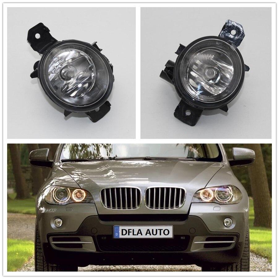 2pcs Car Light For BMW X5 E70 2006 2007 2008 2009 2010 2011 2012 2013 Car-styling Front Halogen Fog Light Fog Lamp motocross dirt bike enduro off road wheel rim spoke shrouds skins covers for yamaha yzf r6 2005 2006 2007 2008 2009 2010 2011 20