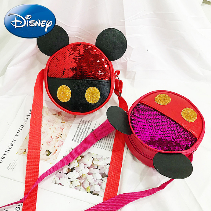 Disney 2019 New Kid Mickey Shoulder Bags Messenger Handbag Girl School Lovely Bow Crossbody Bag Backpack Child Waist Bag SchoolDisney 2019 New Kid Mickey Shoulder Bags Messenger Handbag Girl School Lovely Bow Crossbody Bag Backpack Child Waist Bag School