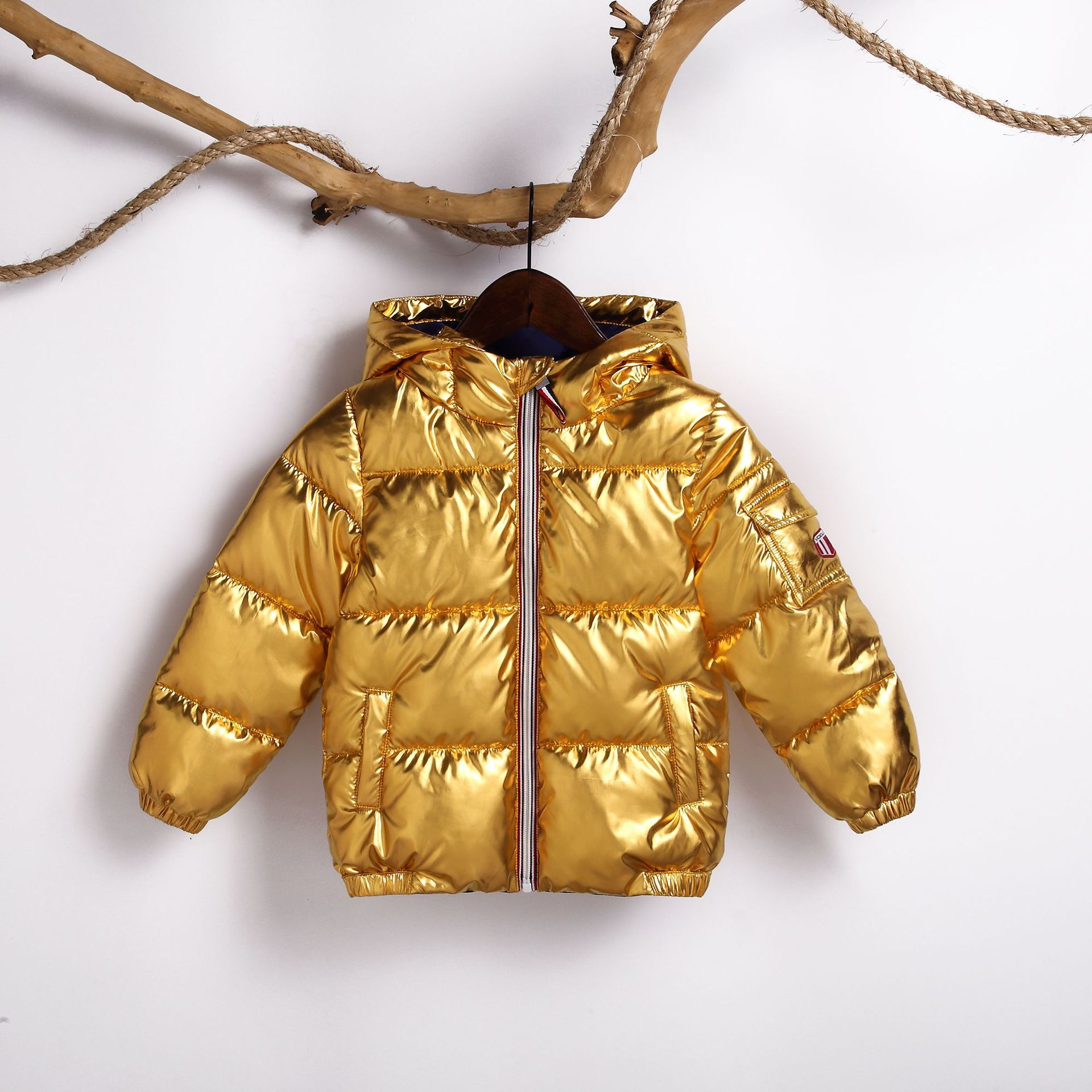 2018 Winter Down Jacket Parka for Girls Boys Coats Cotton Down Jackets Children's Clothing for Snow Wear Kids Outerwear & Coats 6 24m snow wear baby boys girls rompers down coats winter 2017 baby clothing cotton girls coats fashion baby outerwear