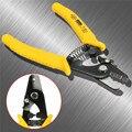 Tri Loch Fiber Optic Stripper 3 Loch Clamp Faser Abisolieren Zangen Draht Streifen Zangen Hand Werkzeuge Zubehör-in Zangen aus Werkzeug bei