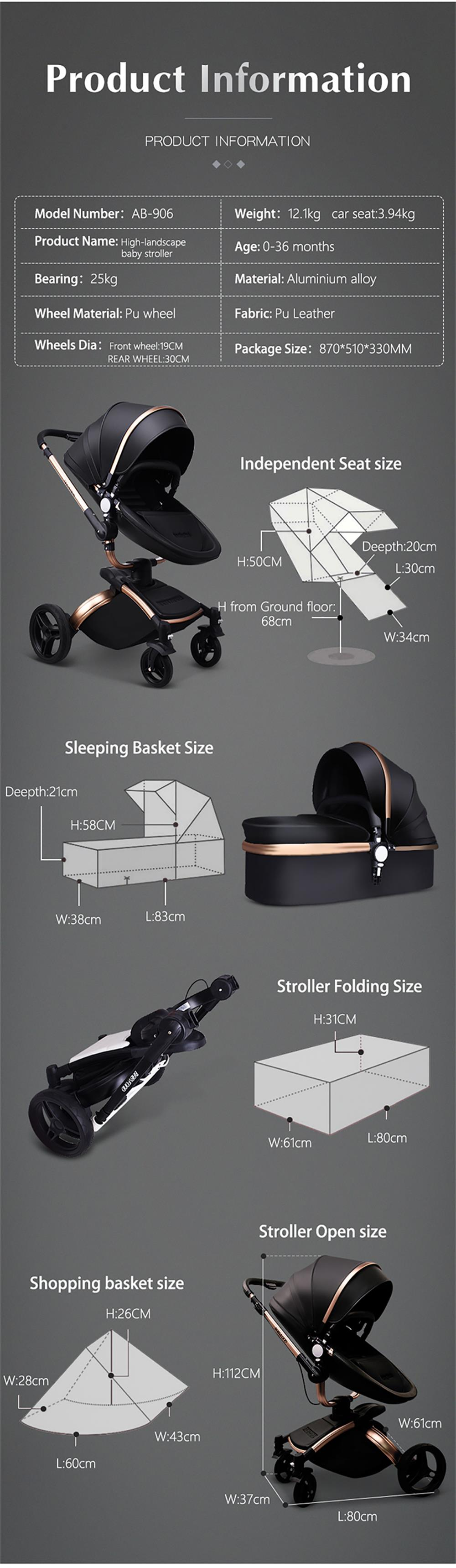 baby Free Seat stroller 15