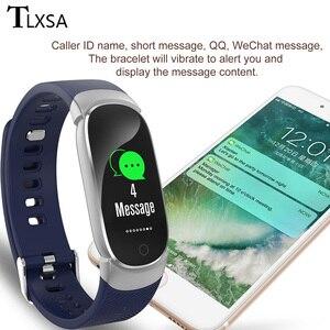 Image 5 - TLXSA Smart Bracelet Fitness Tracker Moniteur de Fréquence Cardiaque Bande À Puce Étanche Podomètre Sport Bracelet Pour Femmes Hommes Smartwatch