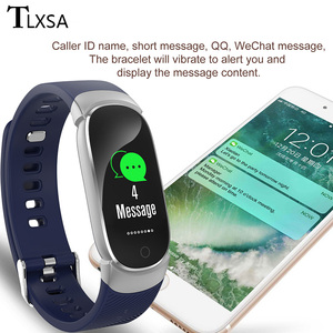 Image 5 - TLXSA умный Браслет фитнес трекер сердечного ритма мониторы водонепроницаемый смарт Браслет Шагомер Спорт для женщин мужчин Smartwatch