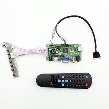 HDMI VGA AV Audio USB Kit Placa Controladora do LCD para Samsung X170 Lenovo U150 E125 U24E Asus Acer AS1551 B116XW02 LEVOU 1366×768 diy