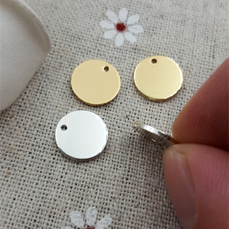 50pcs Free Shipping Hot New Diy Brass Metal Stamping