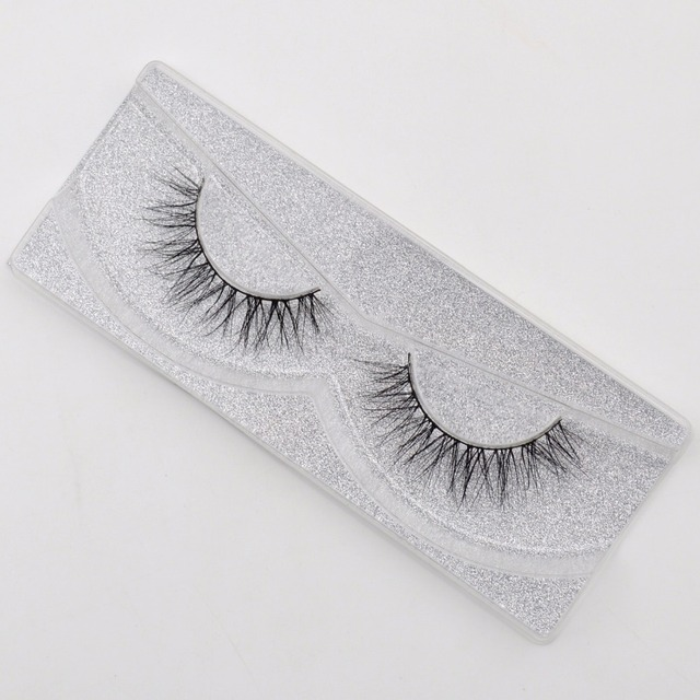 Eyelashes 3D Real Mink Eyelashes Natural Long False Eyelashes 100% Hand Made False Lashes Eye Extension cilios Long lasting 4