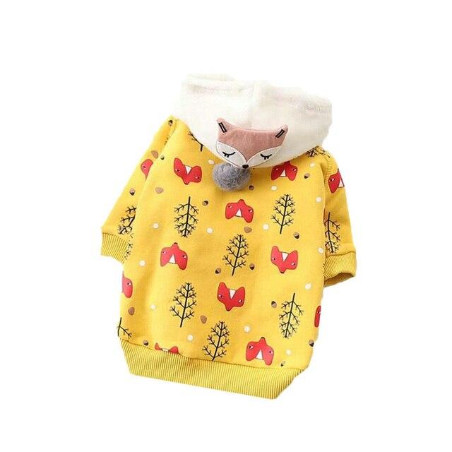 Gli Animali Domestici I Cani Vestiti di inverno Dell'animale Domestico Vestiti D
