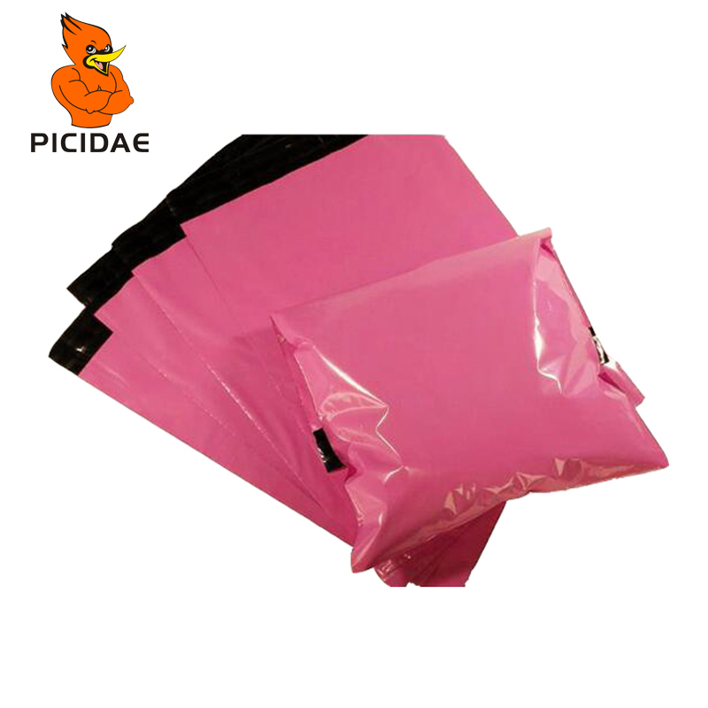 Pink Colour Envelope Mailing Bag Kullerpostisaadetaja Express Maili - Kodu ladustamise ja organisatsiooni