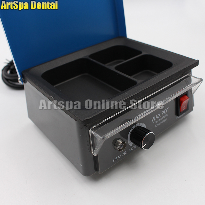 Dental Lab Equipment Wax Heater 3-well Wax Heating Analog Dipping Pot JT-15 Free Shipping free shipping 10pcs jt 7054 2