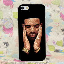 Drake Hard Transparent Cover Case for iPhone 7 7 Plus 6 6S Plus 5 5S SE 5C 4 4S