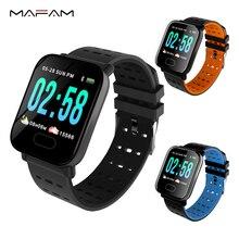 5be63b7c516 MAFAM A6 Smart Watch Men Women Heart Rate Monitor Sport Fitness Tracker  Blood Pressure Waterproof SmartWatch