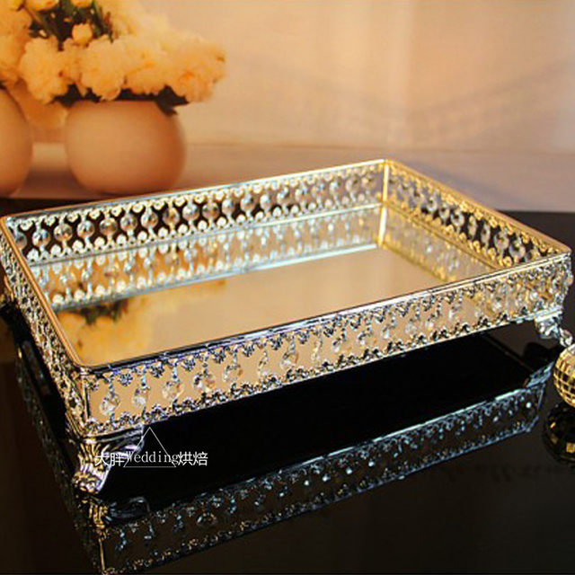 Kingart Size Wedding Cake Serving Tray Dessert And Fruit Plate For Kitchen Hotel