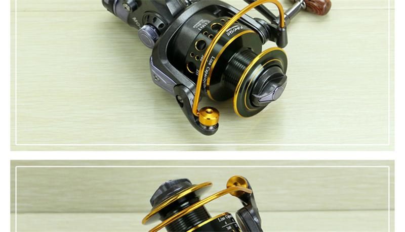 Yumoshi Fishing Rod Reel Combo 19
