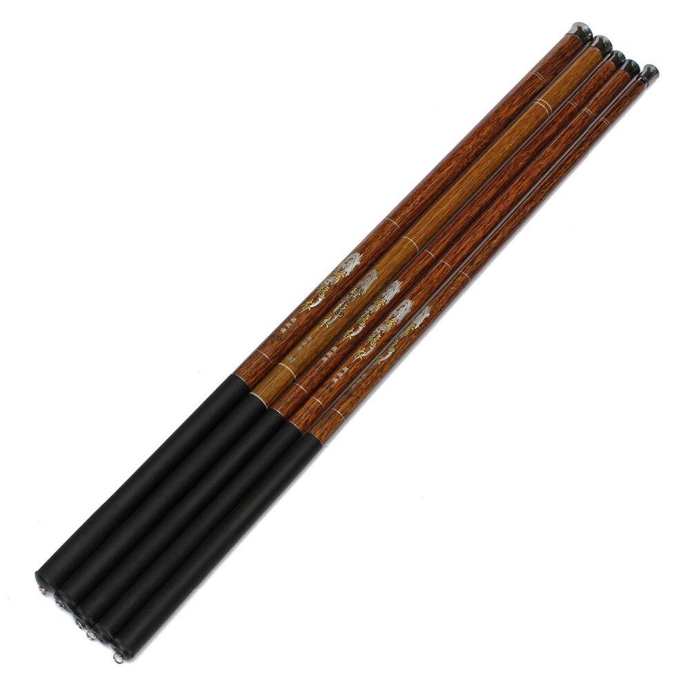 Ultraligero duro 7,2/3,6/5,4 6,3 metros 4,5 caña de mano de fibra de carbono fundido telescópico caña de pescar aparejos de mano