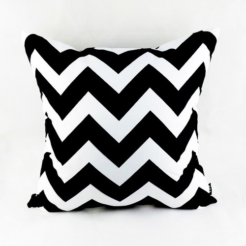 18 Decorative Modern Black White Chevron Zig Zag Throw Cushion Cover Pillow Case For Sofa Bedding Couch Home Decor In From Garden