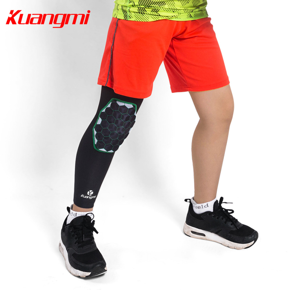 Kuangmi 1 PCS Child Kids Knee Protector Anti-Crash Knee Pads Sleeve Honeycom Kneecap for Children Sports Knee Brace Support