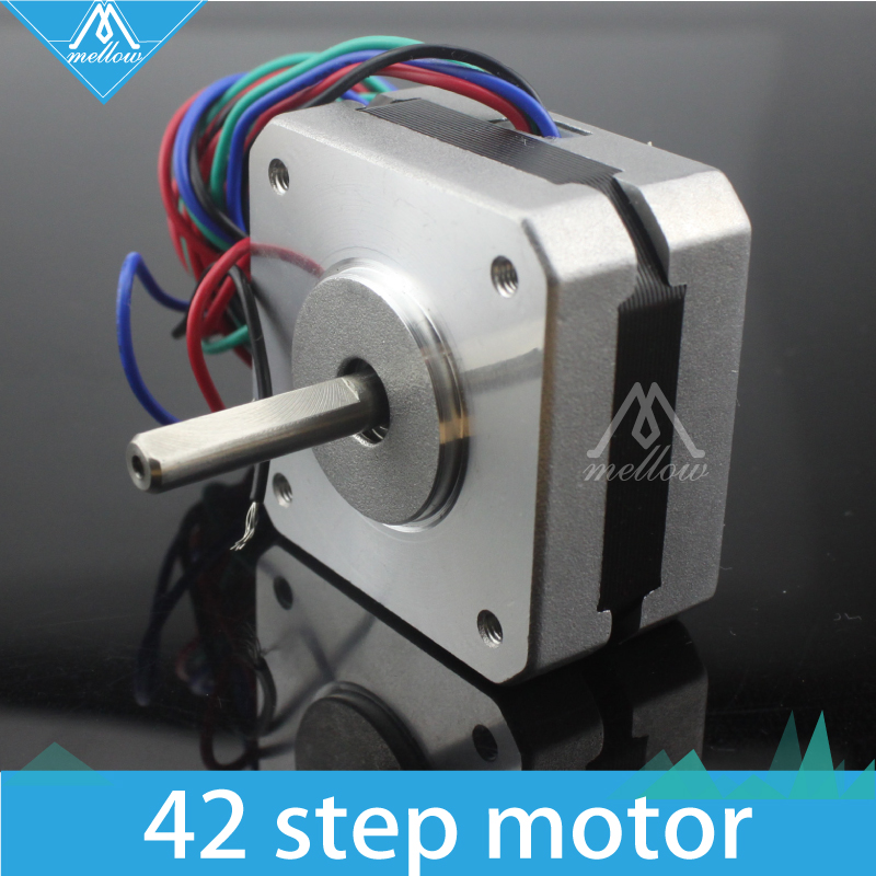 HOT! Titan Extruder Stepper Motor 4-lead Nema 17 22mm 42 motor 3D printer extruder for J-head bowden 3d printer parts tevo black widow titan step motor for titan extruder 3d printer extruder 42 42 23mm for j head bowden