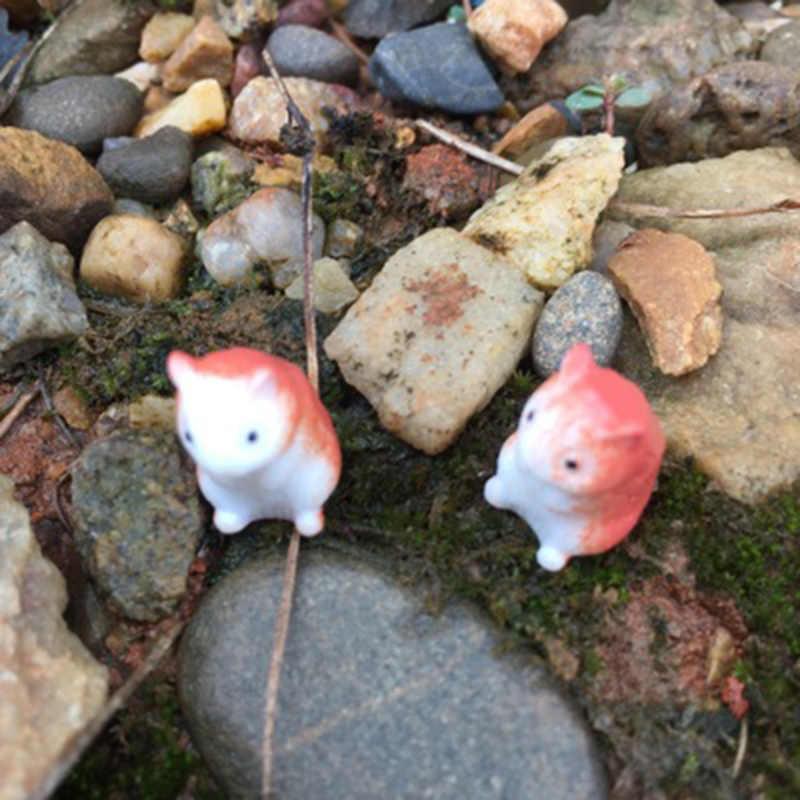 ZOCDOU 3 adet fare sıçan fareler Zakka masa masa vitrin modeli küçük heykeli küçük heykelcik el sanatları şekil süsleme minyatürler DIY