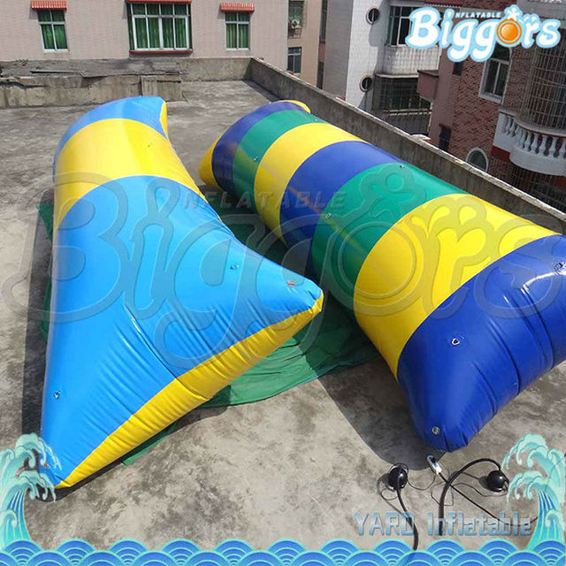 Inflatable Biggors Water Park Equipment Human Water Catapult Inflatable Water Blob For Sale