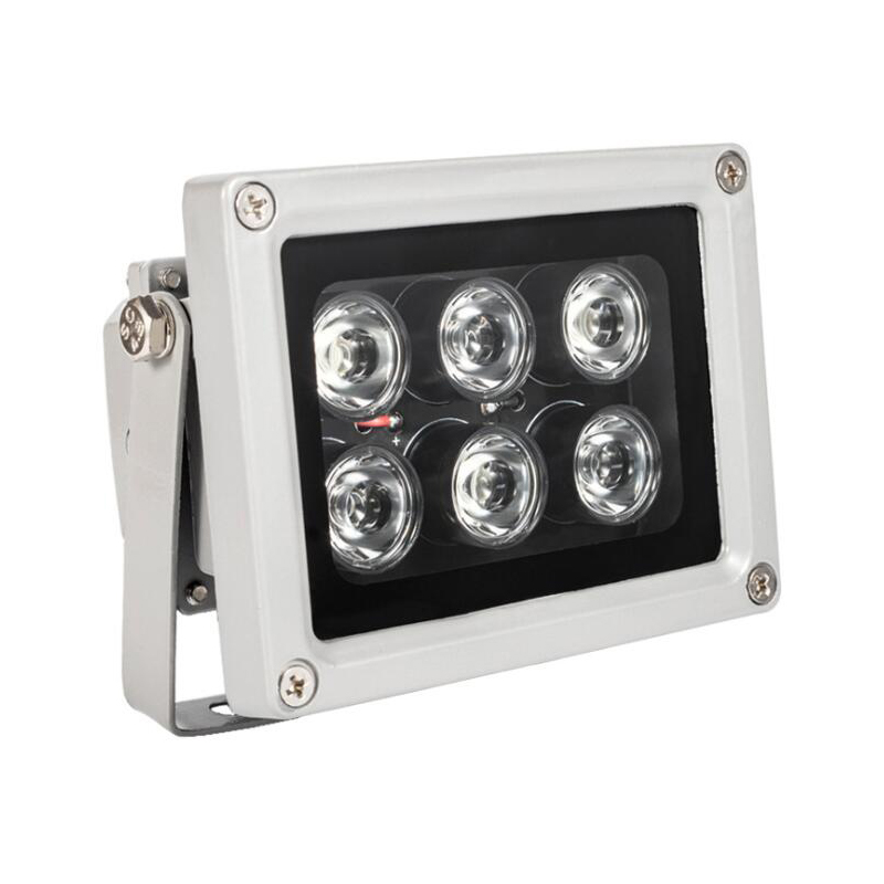 IR illuminator infrared lamp 6pcs Array Led IR Outdoor Waterproof Night Vision for IP65 CCTV Camera цена