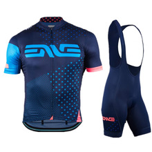 Enve 2019 New Quick-Dry Racing Bike Cycling Clothing Breathable Bicycle Clothes Men/Women Jersey Bib Shorts 9D Pad