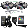 10M 60led/m Waterproof RGB 5050 LED Strip SMD Music Controller 12V6A Power Adapter Flexible Led Light Tape Home Decoration Lamps