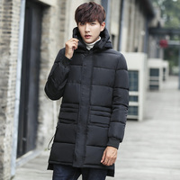 men jacket coat winter man in fashionable joker long cotton padded clothes M321 P95 cotton padded jacket with thick jacket coat