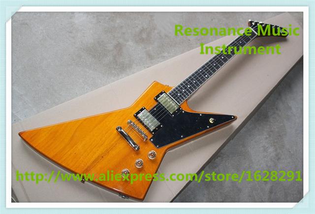 Cheap New Arrival China OEM Gold Hardware Explorer Electric Guitars Left Handed Custom Available