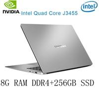 זמינה עבור לבחור P2-40 8G RAM 256G SSD Intel Celeron J3455 NVIDIA GeForce 940M מקלדת מחשב נייד גיימינג ו OS שפה זמינה עבור לבחור (1)