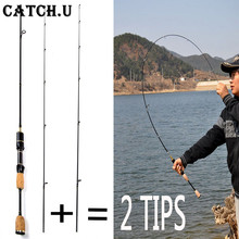 2 Tips UL/L Spinning Rod 1.8m 0.8-5g Lure Weight 2-5LB Line Weight Lure Carp Spinning Fishing Rod