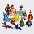 12 pçs/lote New Sofia a Primeira Figura PVC Brinquedos Princesa Sofia Boneca PVC Brithday Presente Para As Crianças Frete Grátis