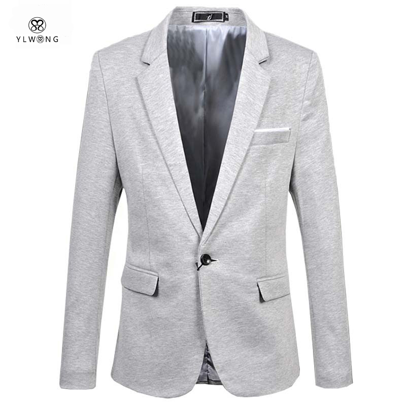 black blazer men plus size 6xl british style mens blazers grey red