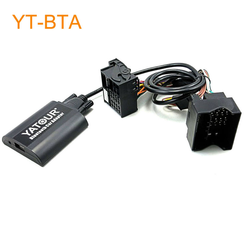 Yatour BTA Car Bluetooth Adapter for Factory Head Unit Radio for Ford Fiesta Mondeo Focus Fusion Galaxy Transit Tourneo S-Max yatour car mp3 usb sd cd changer for ipod aux with optional bluetooth for ford fiesta mondeo focus fusion galaxy transit tourneo