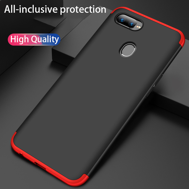 best sneakers ca00c 57927 US $1.63 36% OFF|Case for OPPO F9 Pro R17 Realme 2 Pro Realme U1 K1 R15x  A7x F9 Pro A7 Cover 360 Full Protection Fundas Cover Capa-in Fitted Cases  ...