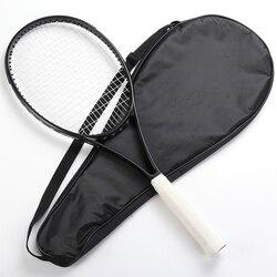 Blade98 Carbon Fiber tennis racket HOOFD SIZE 98 sq. in. Zwart Racket Geschuimd handvat 4 1/4, 4 3/8, 4 1/2 met zak