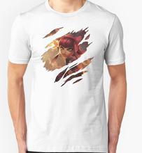 LOL-Annie T-shirts Men Funny Cotton Short Sleeve O-neck Tshirts 2016 New Fashion Summer Style Design Men T shirts free shipping