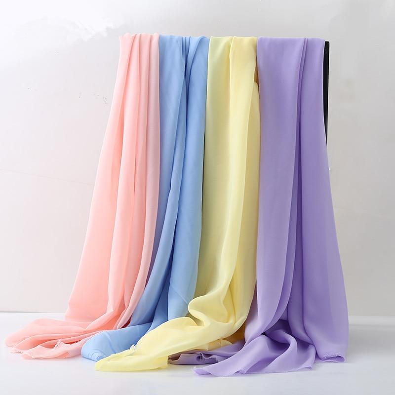 Wedding Gown Fabric Guide: 150cm*100cm Chiffon Fabric Sheer Bridal Wedding Dress