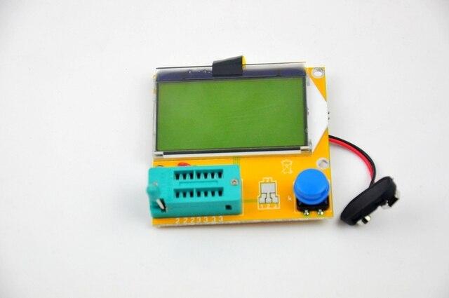 Mega328 Transistor Tester Diode Triode Capacitance ESR Meter MOS/PNP/NPN L/C/R Free Shipping