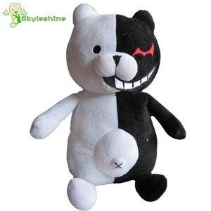Skyleshine розовый и белый Monomi плюшевый кролик, Danganronpa Trigger Happy Havoc Bear Dangan Ronpa, чучела кукла, игрушки для животных