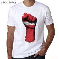 Custom Round Neck Latvia Flag Fingerprint Men S T Shirt Adult T Shirts Cheap Wholesale T
