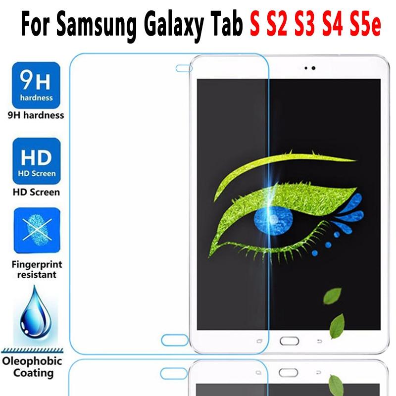 9H HD Verre Trempé Pour Samsung Galaxy Tab S S2 S3 S4 S5e S6 8.0 8.4 9.7 10.5 T860 T720 T830 T710 T810 T820 Protecteur D'écran