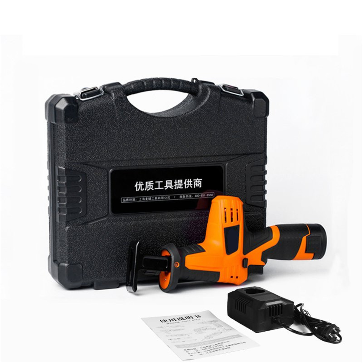 цена на 12V Portable Reciprocating Saw Powerful Wood Cutting Saw Electric Wood/ Metal Saws With Blade Woodworking Cutter