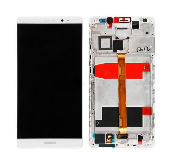 6.0 Lcd Display+Touch Screen Digitizer +Frame Assembly For Huawei Ascend Mate 8 NXT-AL10 white/glod /black color replacement