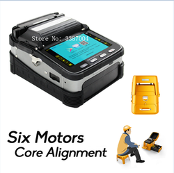signalfire SM&MM  Automatic FTTH  Fiber Optic Welding Splicing Machine Optical Fiber Fusion Splicer AI-7